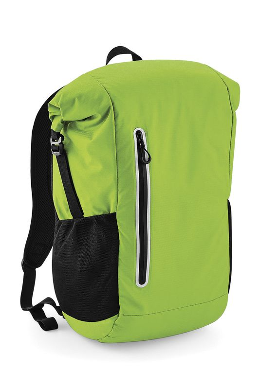 Acid Green Ath-tech Roll-top Reppu Painatuksella