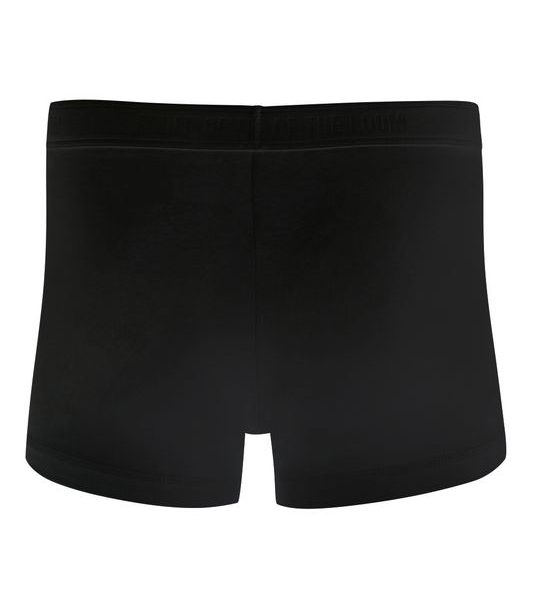 Black Classic Shorty Boxer 2-pack Painatuksella
