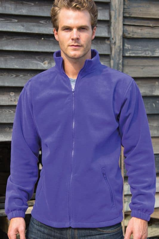 Purple Core Fleece Painatuksella