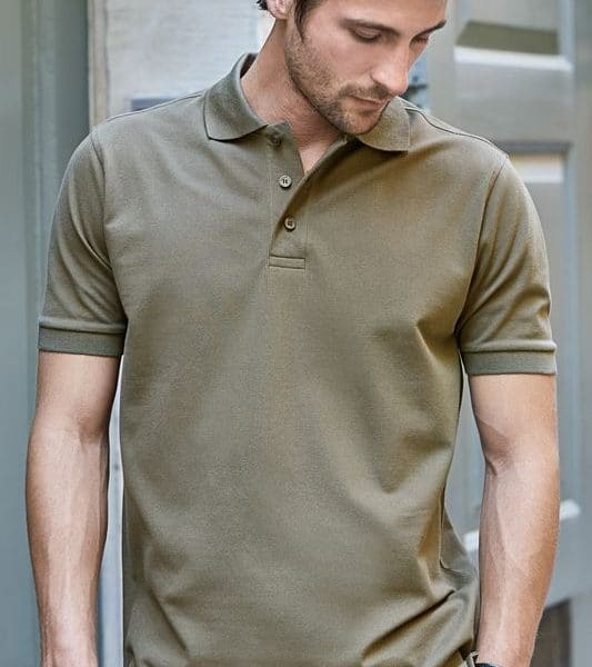 New Olive Deluxe Stretch Pikee Painatuksella