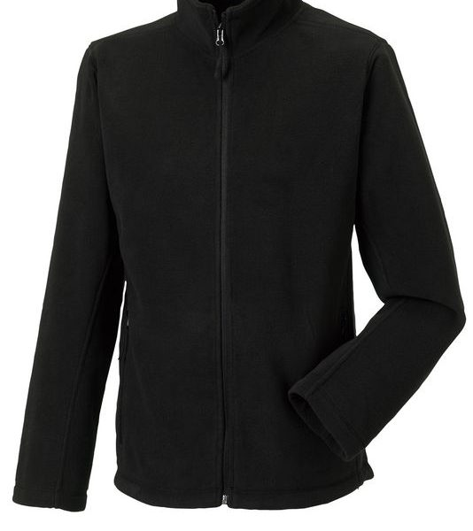 Black Outdoor Fleece Painatuksella