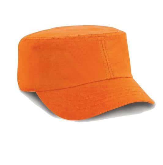 Orange Urban Trooper Armylippis Painatuksella