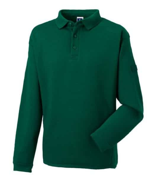 Bottle Green Workwear Kauluscollege Painatuksella